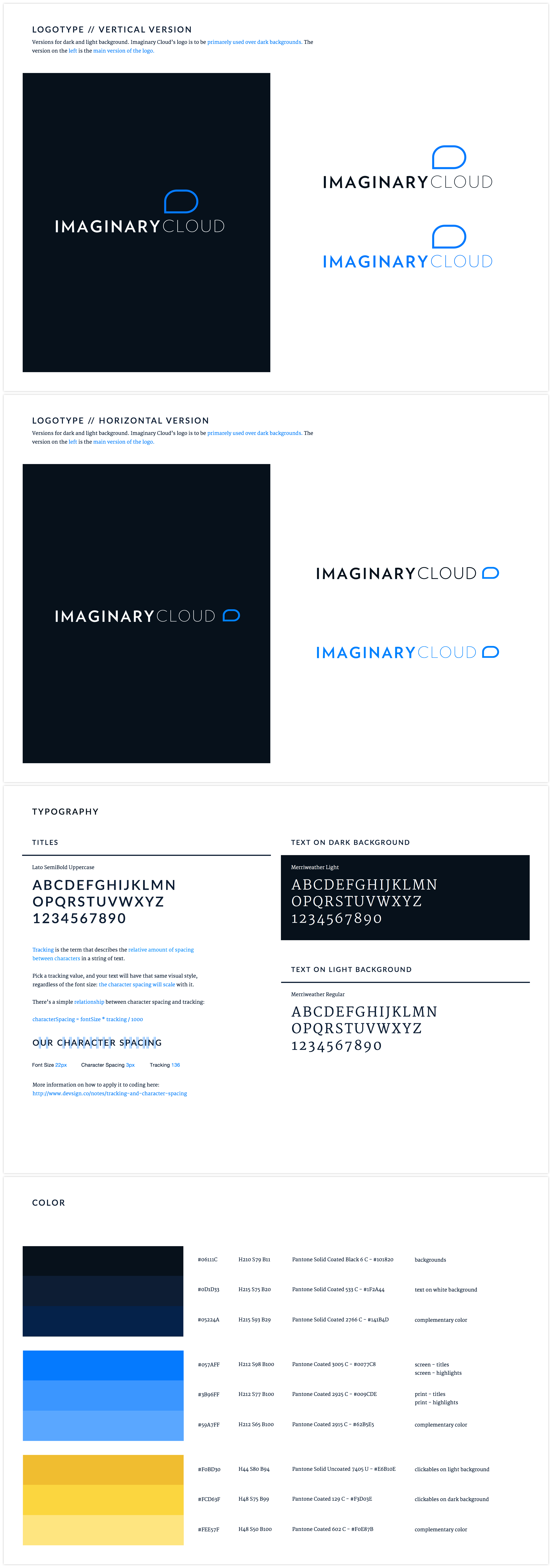 Imaginary Cloud Guidelines