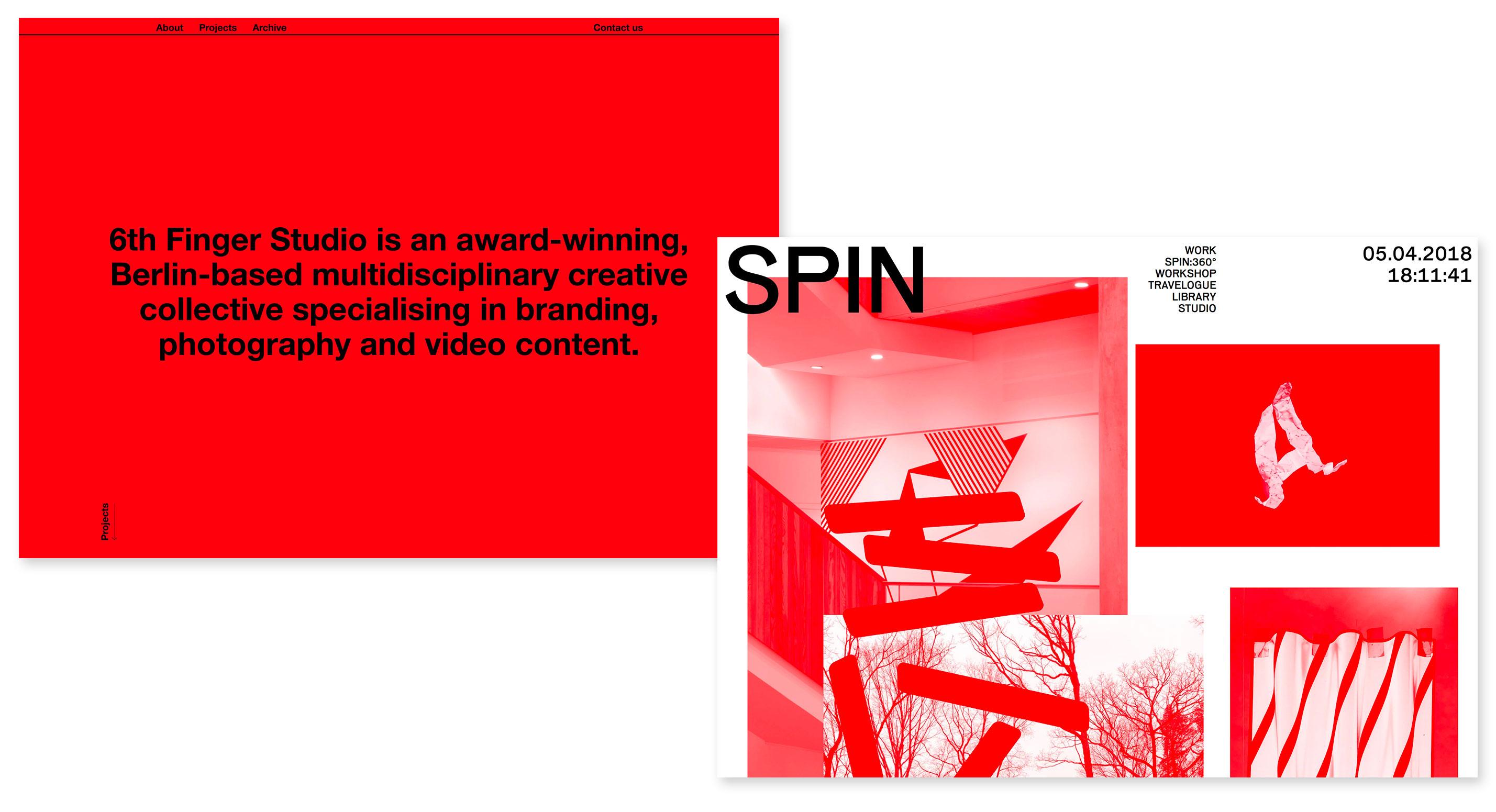 http://6thfinger.studio; http://spin.co.uk