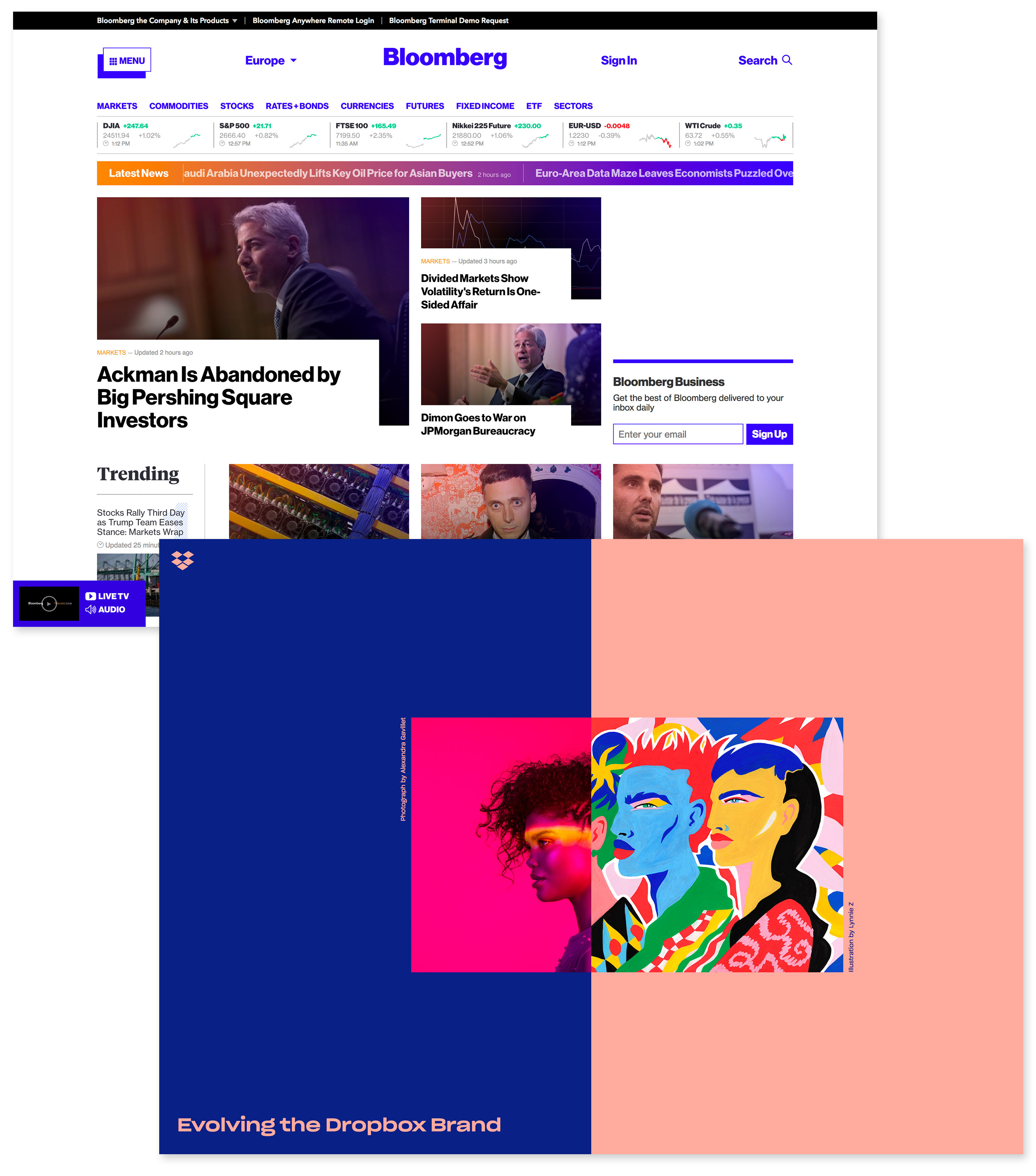 https://www.bloomberg.com; https://dropbox.design