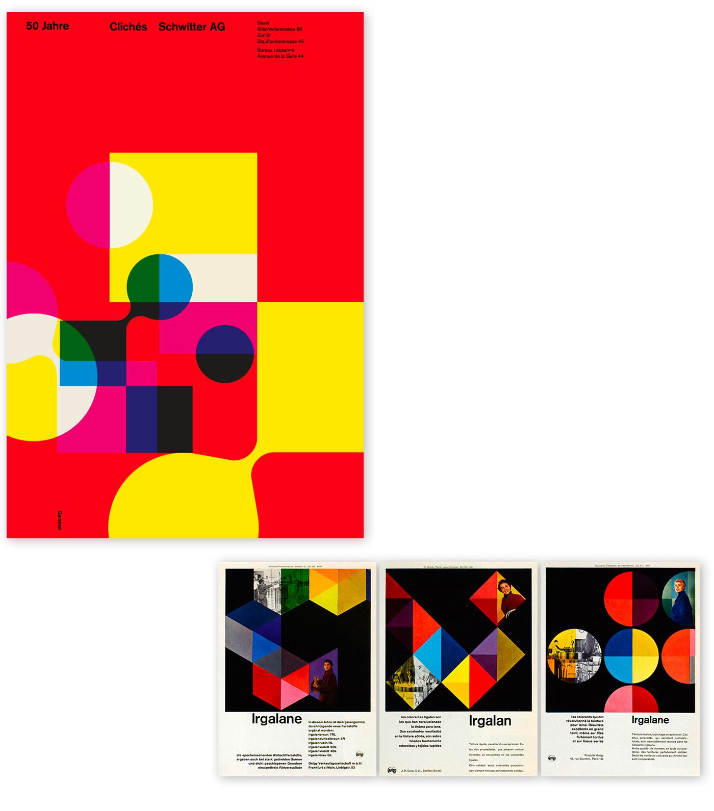 Karl Gerstner's posters