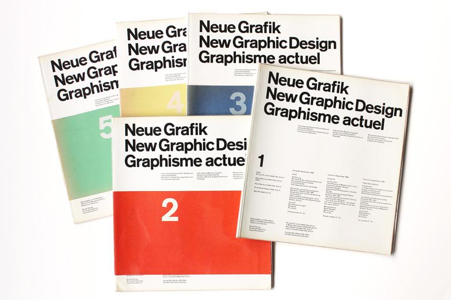 Neue Grafik Magazine, 1958-1965 (eyeondesign.aiga.org)
