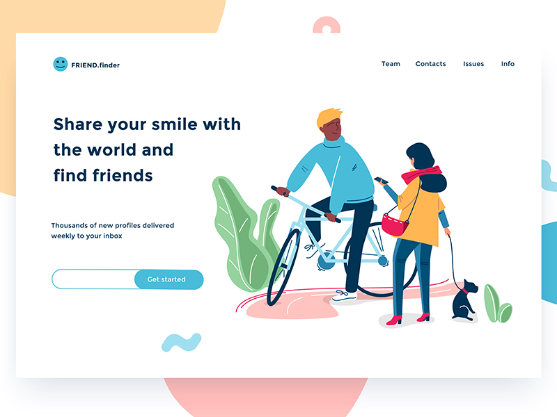 https://dribbble.com/shots/4374127-Friends