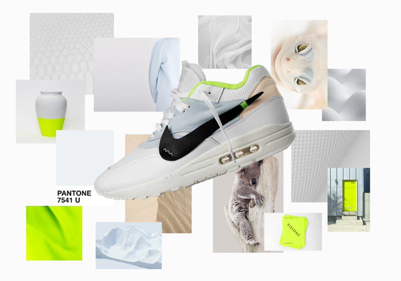Mood board for custom Airmax 1, Tobias Van Schneider