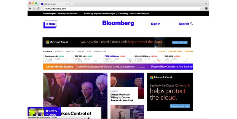 Bloomberg Website (2016)