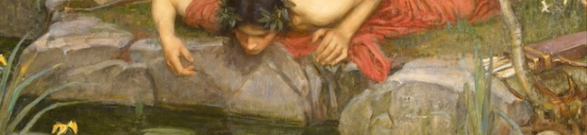 This scenario leads to a product that will like itself way too much. (Echo and Narcissus by John William Waterhouse, 1903)