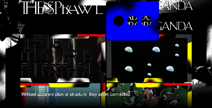 Metahaven's The Sprawl Website