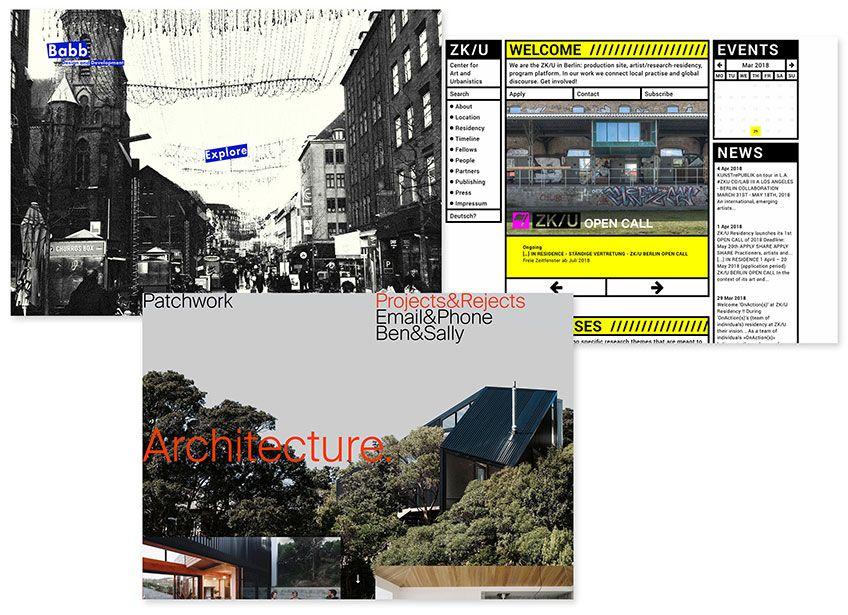 THTTP://CHRISTOPHERBABB.COM; HTTP://WWW.ZKU-BERLIN.ORG; HTTP://PATCHWORKARCHITECTURE.CO.NZ