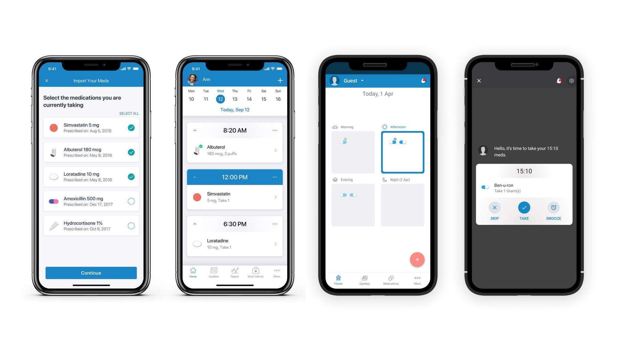 Medisafe mobile app