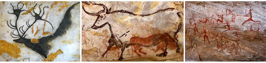 Lascaux Paleolithic Cave Paintings