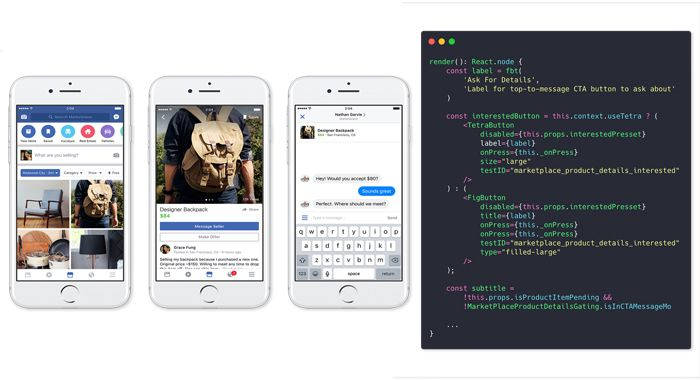 Facebook Marketplace with React Native