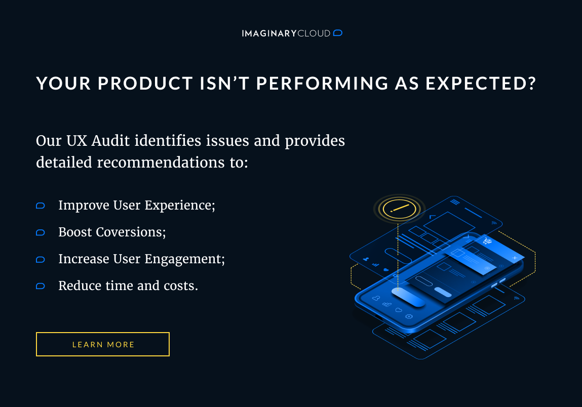 Ready for a UX Audit? Book a free call