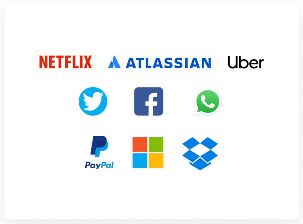 Companies using React