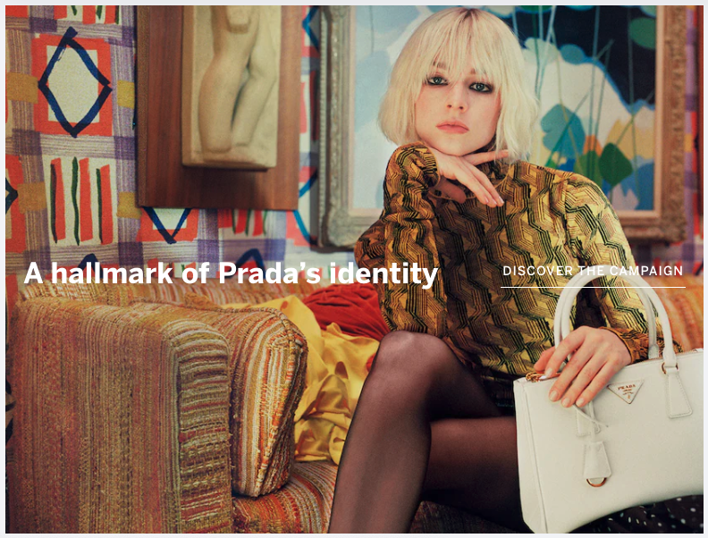 A hallmark of Prada's 21st century identity