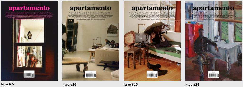 Apartamento Magazine Covers
