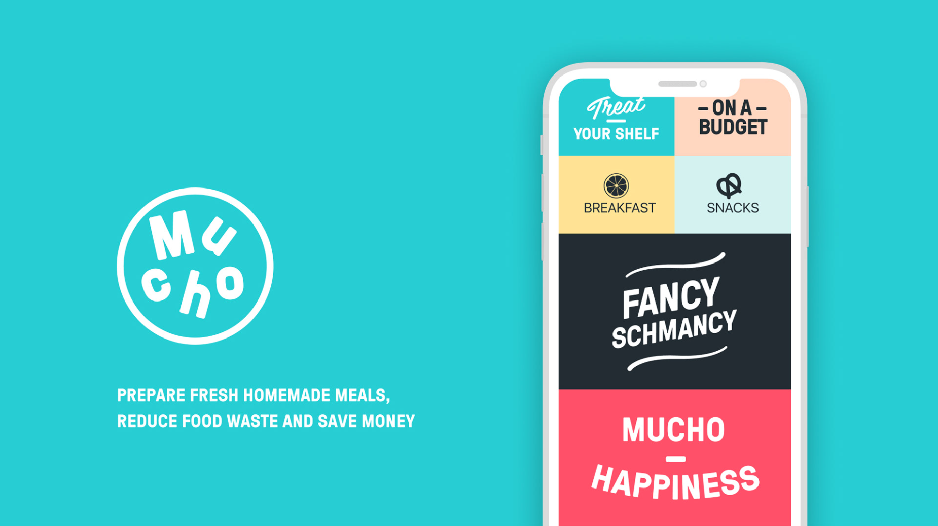 Mucho Project winner of the Best App Design by Design Rush